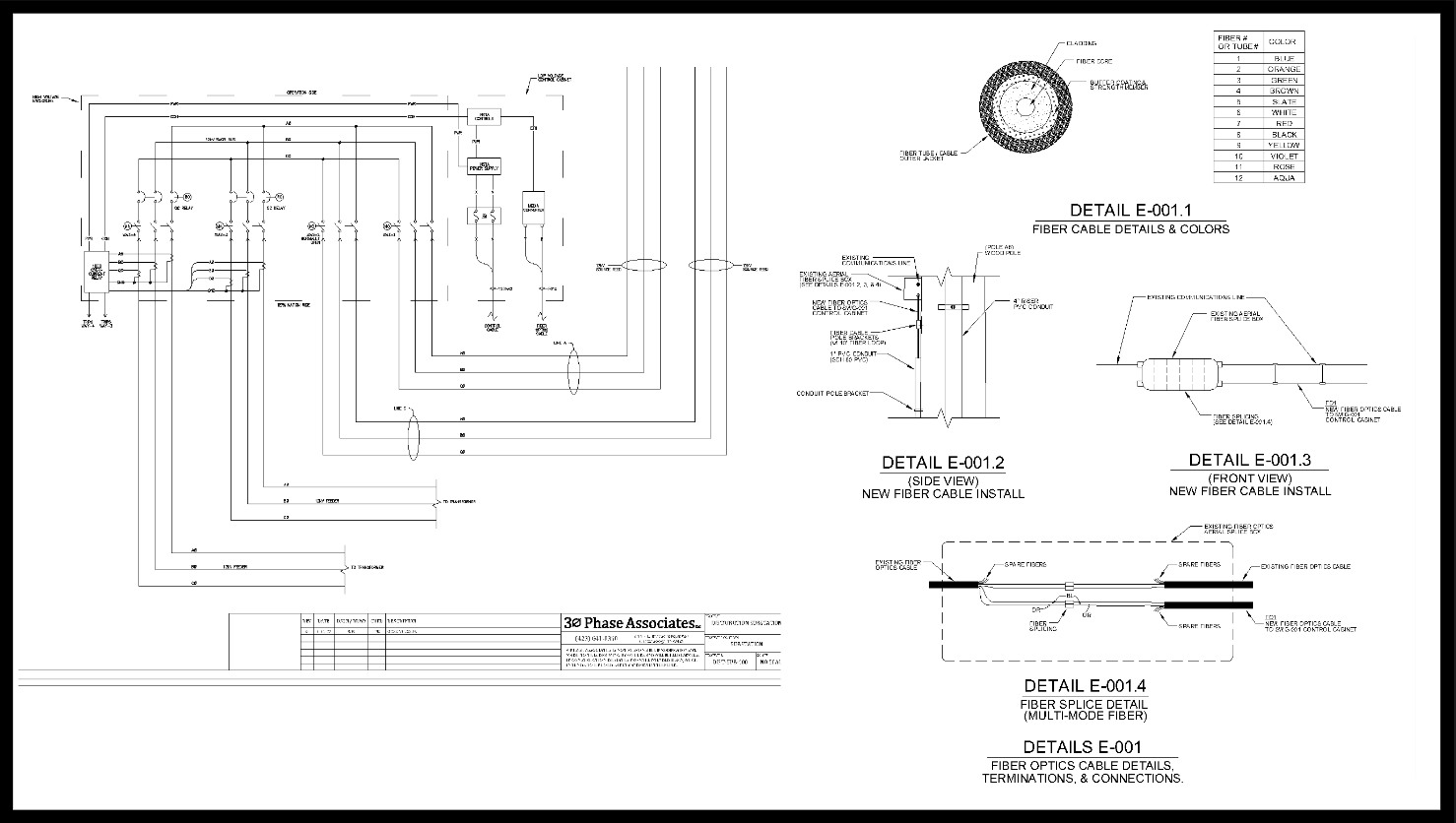 Electrical and Telecomm Diagrams