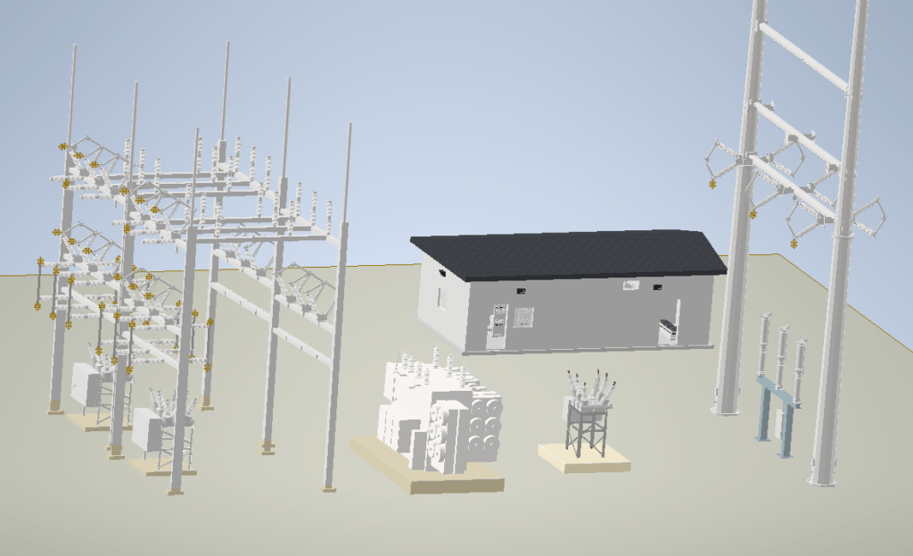 Substation-3D-Design
