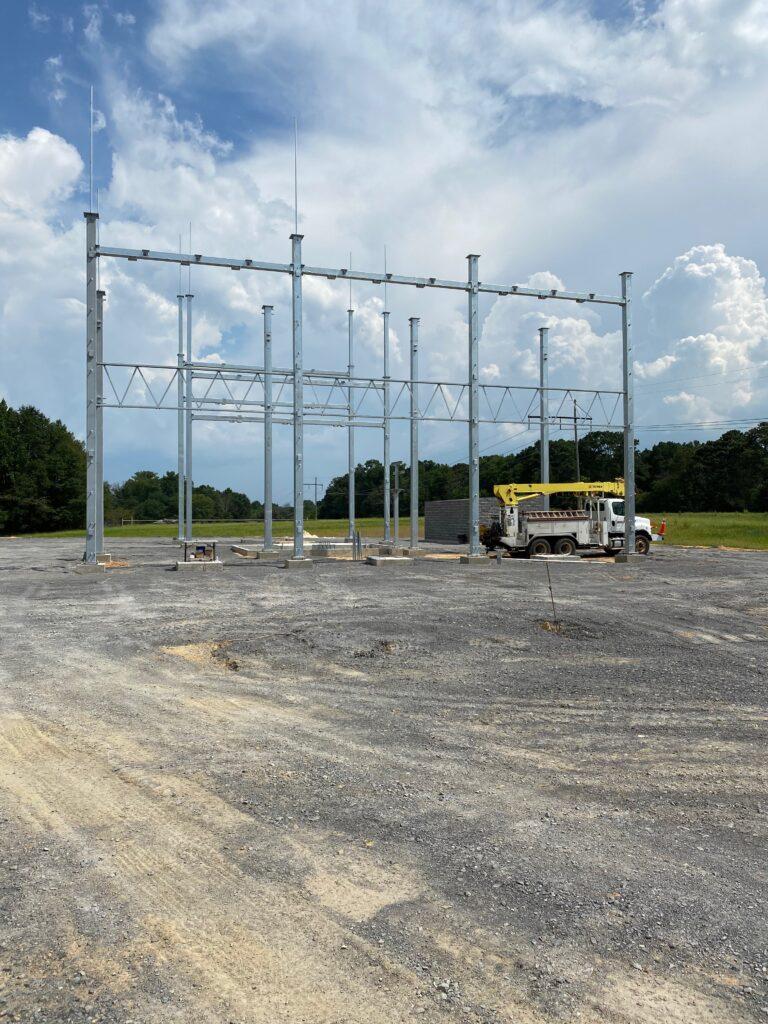 Substation-Construction