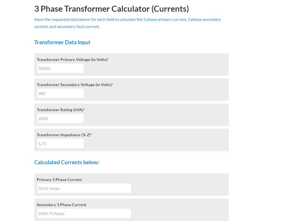 Electrical-Calculator