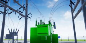 Substation 3D Yard View